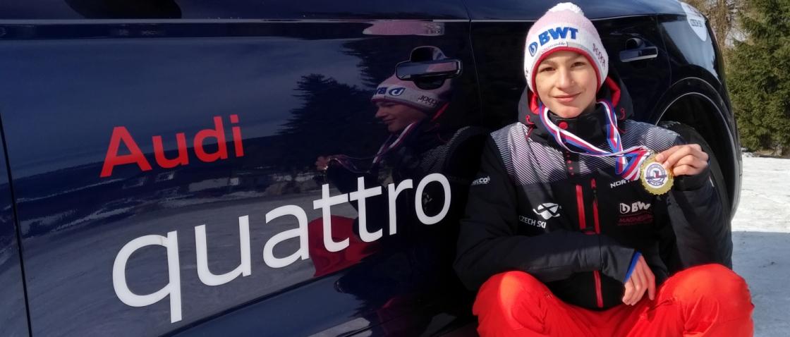 Petr Vaverka mistrem republiky mezi dorostenci | Czech ski