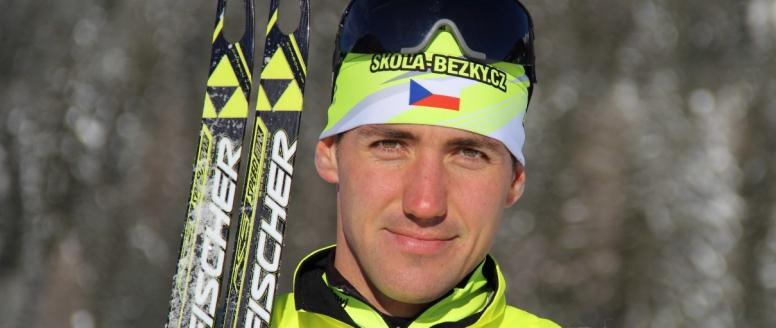 """""""S olympiádou jsem v letošním programu nepočítal, ale je to jako sen,"""" říká dálkový běžec na lyžích Petr Novák"""